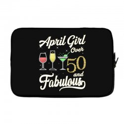 april girl over 50 & fabulous Laptop sleeve | Artistshot