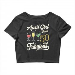 april girl over 50 & fabulous Crop Top | Artistshot