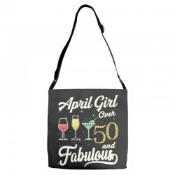 april girl over 50 & fabulous Adjustable Strap Totes | Artistshot