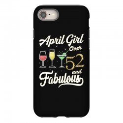 april girl over 52 & fabulous iPhone 8 Case | Artistshot