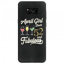 april girl over 52 & fabulous Samsung Galaxy S8 Case | Artistshot