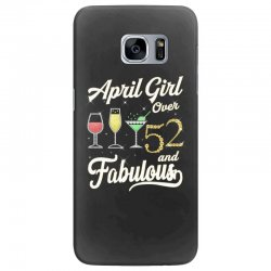 april girl over 52 & fabulous Samsung Galaxy S7 Edge Case | Artistshot