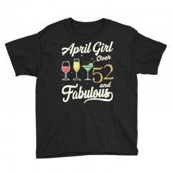 april girl over 52 & fabulous Youth Tee | Artistshot