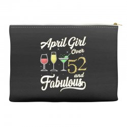 april girl over 52 & fabulous Accessory Pouches | Artistshot