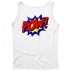 pow comic comic book fight Tank Top | Artistshot