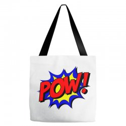 pow comic comic book fight Tote Bags | Artistshot
