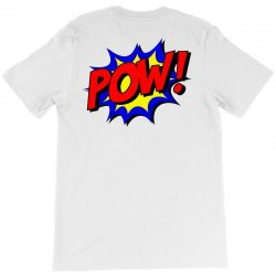 pow comic comic book fight T-Shirt | Artistshot