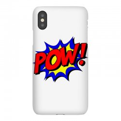 pow comic comic book fight iPhoneX Case | Artistshot