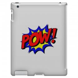pow comic comic book fight iPad 3 and 4 Case | Artistshot