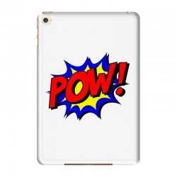 pow comic comic book fight iPad Mini 4 Case | Artistshot