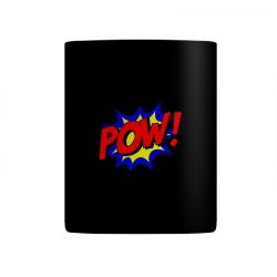 pow comic comic book fight Mug | Artistshot