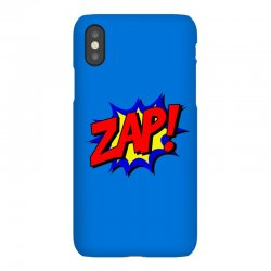 zap comic book fight iPhoneX Case | Artistshot
