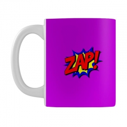 zap comic book fight Mug | Artistshot