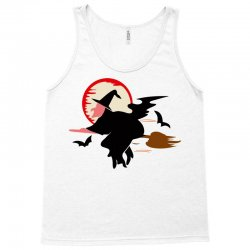 bat broom broomstick Tank Top | Artistshot