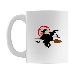 bat broom broomstick Mug | Artistshot