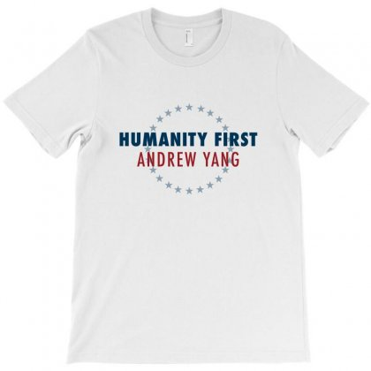 Humanity First Andrew Yang T-shirt Designed By Seniha