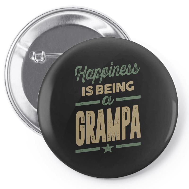 Happiness Grampa Pin-back Button | Artistshot