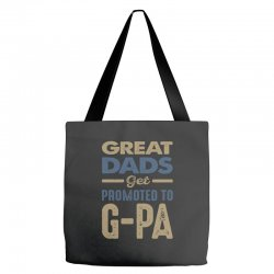 Promoted To G-Pa Tote Bags   Artistshot