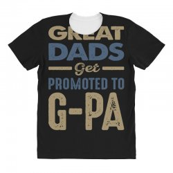 Promoted To G-Pa All Over Women's T-shirt   Artistshot