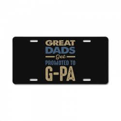 Promoted To G-Pa License Plate | Artistshot