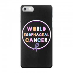 world esophageal cancer iPhone 7 Case | Artistshot