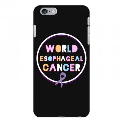 world esophageal cancer iPhone 6 Plus/6s Plus Case | Artistshot