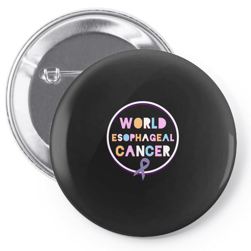 World Esophageal Cancer Pin-back Button | Artistshot
