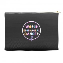 world esophageal cancer Accessory Pouches | Artistshot
