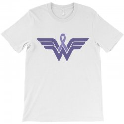 esophageal cancer wonder woman T-Shirt | Artistshot