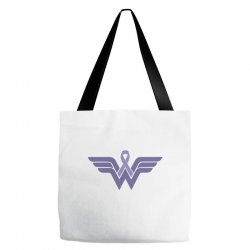 esophageal cancer wonder woman Tote Bags | Artistshot