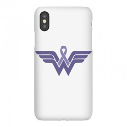 esophageal cancer wonder woman iPhoneX Case | Artistshot