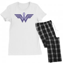 esophageal cancer wonder woman Women's Pajamas Set | Artistshot