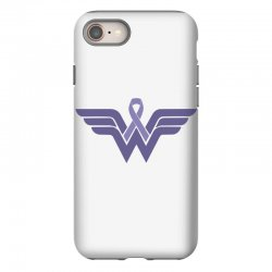 esophageal cancer wonder woman iPhone 8 Case | Artistshot