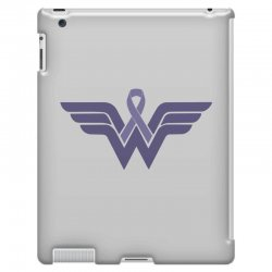 esophageal cancer wonder woman iPad 3 and 4 Case | Artistshot