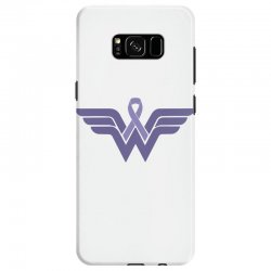 esophageal cancer wonder woman Samsung Galaxy S8 Case | Artistshot