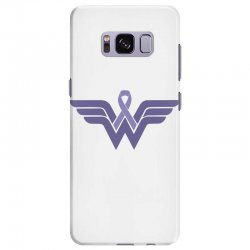 esophageal cancer wonder woman Samsung Galaxy S8 Plus Case | Artistshot