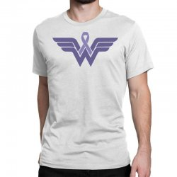 esophageal cancer wonder woman Classic T-shirt | Artistshot