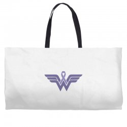 esophageal cancer wonder woman Weekender Totes | Artistshot
