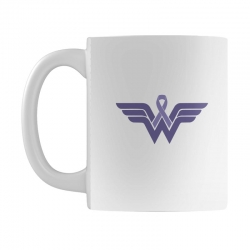 esophageal cancer wonder woman Mug | Artistshot