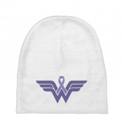 esophageal cancer wonder woman Baby Beanies | Artistshot