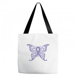 esophageal cancer butterfly Tote Bags | Artistshot