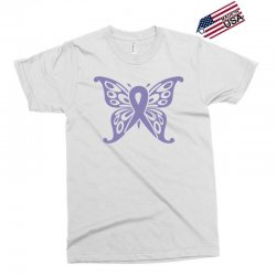 esophageal cancer butterfly Exclusive T-shirt | Artistshot