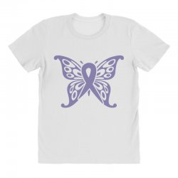esophageal cancer butterfly All Over Women's T-shirt | Artistshot