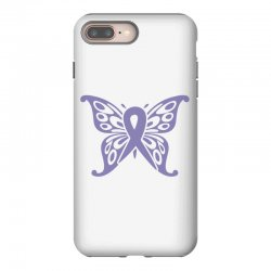esophageal cancer butterfly iPhone 8 Plus Case | Artistshot