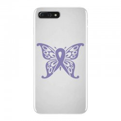 esophageal cancer butterfly iPhone 7 Plus Case | Artistshot