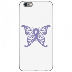 esophageal cancer butterfly iPhone 6/6s Case | Artistshot