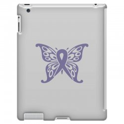 esophageal cancer butterfly iPad 3 and 4 Case | Artistshot