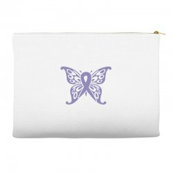 esophageal cancer butterfly Accessory Pouches | Artistshot