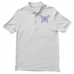 esophageal cancer butterfly Polo Shirt | Artistshot