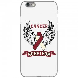 cancer survivor head and neck cancer for light iPhone 6/6s Case | Artistshot